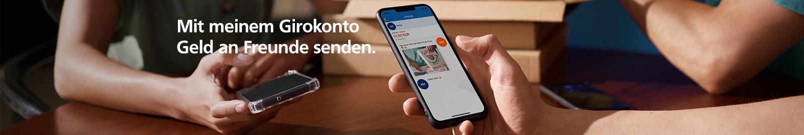 Geld per App senden
